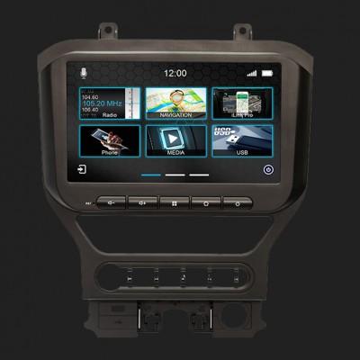 """DYNAVIN 10,1""""(25,7cm) Multimediagerät """"N7 PRO"""" für Ford Mustang Bj.2015-2021 mit 4-Zoll Monitor ab Werk inkl. i-GO Navisoftware"""