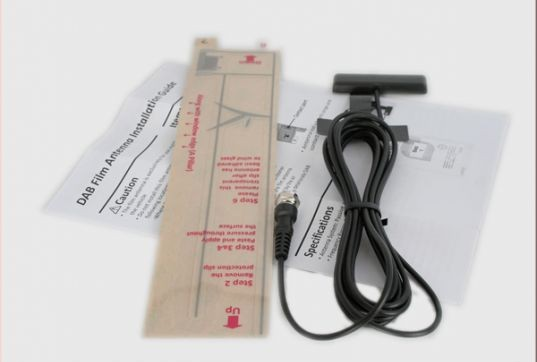 DYNAVIN Antenne für DAB+ Tuner mit SMB-Stecker (Nur für DYNAVIN N6 -DAB+ Tuner)