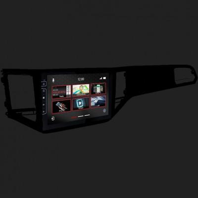 "DYNAVIN 10""(25,4cm) Multimediagerät ""X-Series"" für VW VW Golf 7 Plus in schwarz inkl. i-GO Navisoftware"