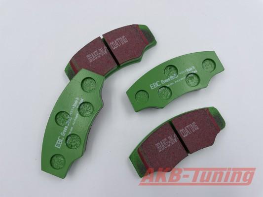 EBC Greenstuff Bremsbeläge passend für alle V-MAXX Big Brake Kits 290mm