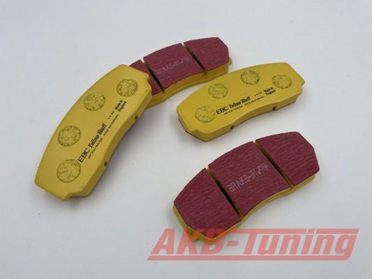 EBC Yellowstuff Bremsbeläge passend für alle V-MAXX Big Brake Kits 330mm