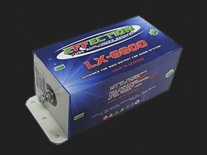 "Effection ""LX-6600"" LiFePo-Akkus 12Volt"