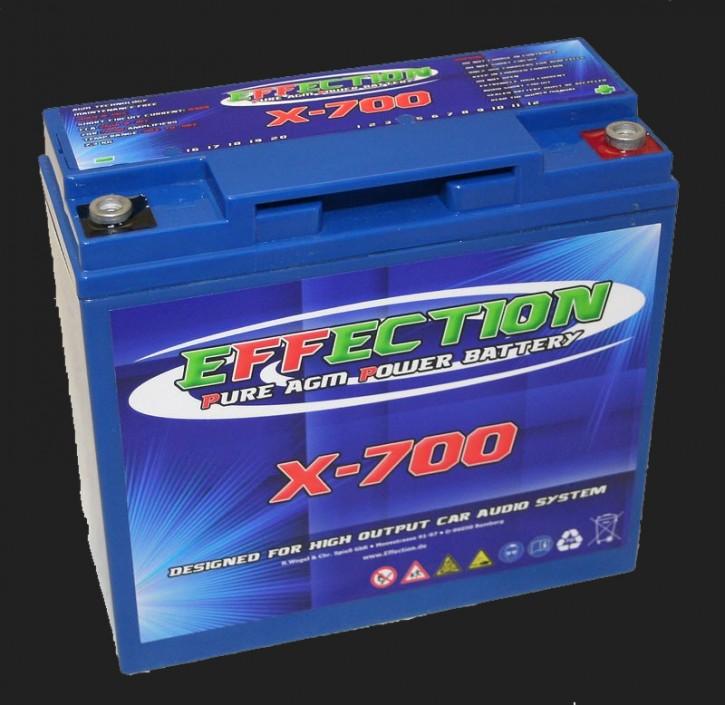 """Effection 12V AGM Batterie """"X-700"""" (20 Ampere)"""