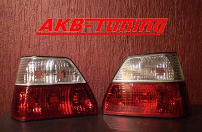 FK Design Rückleuchten VW Golf 2 (Typ 19E) Bj. 84-91, rot/weiß