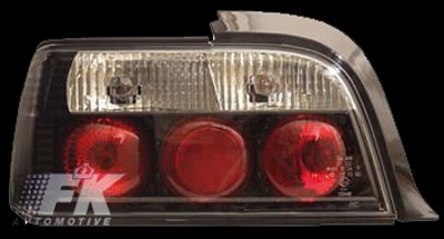 Design Rückleuchten fit for BMW 3er Coupe (Typ E36) Bj. 91-98, schwarz