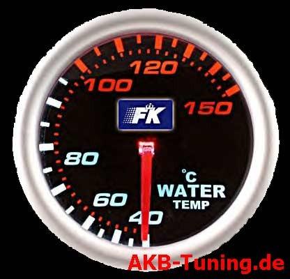 FK Zusatzinstrument Wassertemp.52mm/schwarz (S.9)