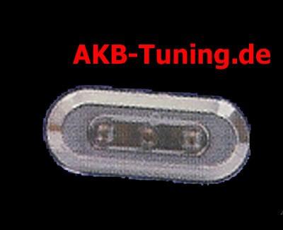 FK LED Seitenblinker in chrom diverse VW (rund/selbdtklebend)