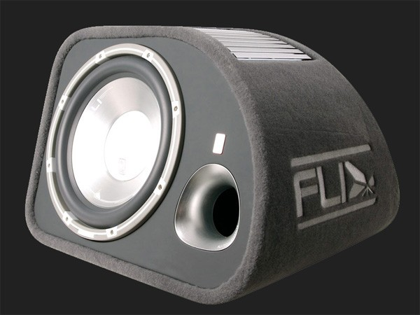 "FLI Trap aktive 12"" (30cm) bassreflex Subwooferkiste MAX.Power 1200Watt"