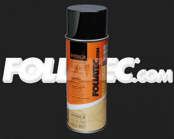 FOLIATEC INTERIOR Color Spray in beige matt (400 ml)