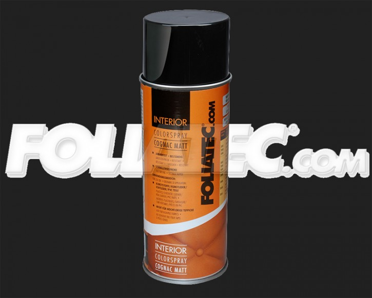 FOLIATEC INTERIOR Color Spray in cognac matt (400 ml)