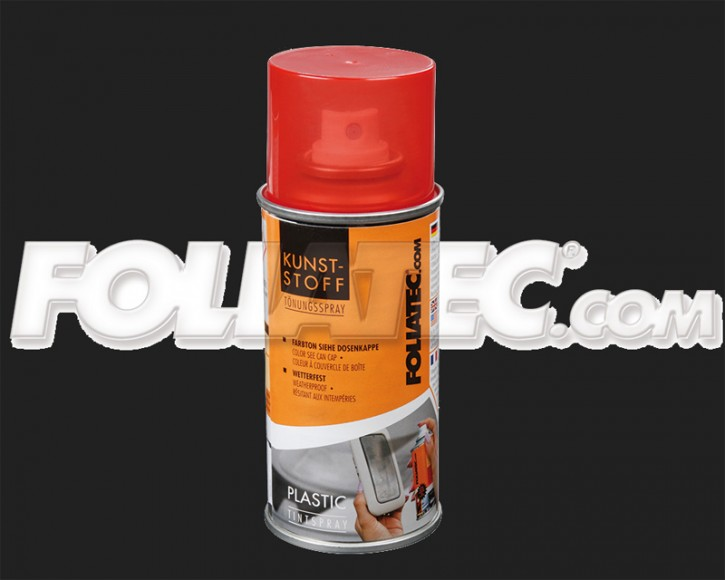 FOLIATEC KUNSTSTOFF Tönungsspray in rot (150 ml)