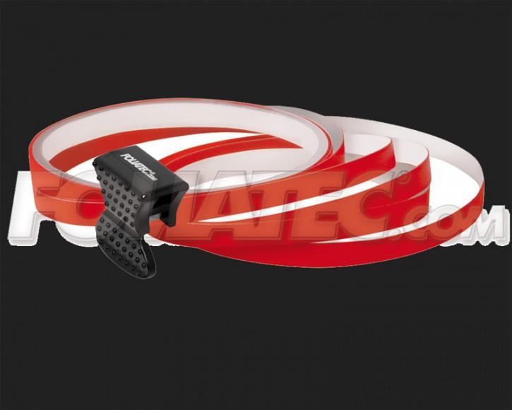 Foliatec Universal PIN Striping Felgen Design für 4 PKW Felgen inkl. Montagetool in rot