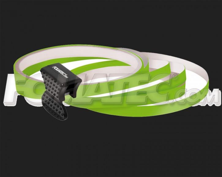 Foliatec Universal PIN Striping Felgen Design für 4 PKW Felgen inkl. Montagetool in powergrün