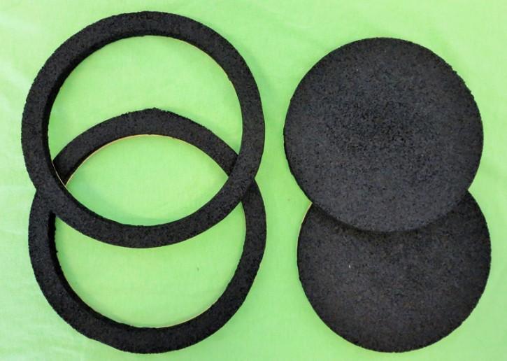 """SIP """"LSR10"""" Lautsprecher Ring zur Ankopplung vom 165mm Lautsprecher an das Gitter der Türverkleidung (2 Stück)"""
