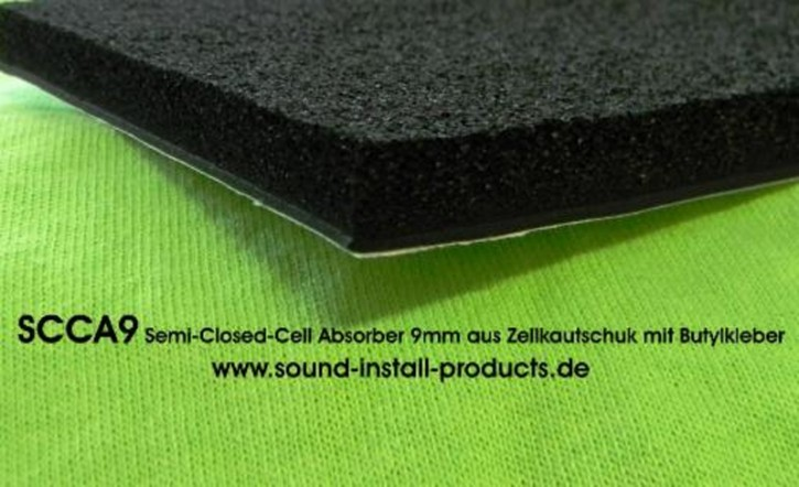 "SIP ""SCCA9"" Semi-Closed-Cell-Absorber 9mm Platten-Set 33x50cm (18 Stück)"