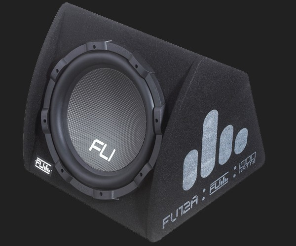 "FU aktive 12"" (30cm) Subwooferkiste MAX.Power 1000Watt"