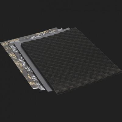 """GROUND ZERO """"GZDM DOORKIT PRO"""" Hochwertiges Antivibrations-Set für 2 Türen (16 Platten a 37,5cm x 50cm = 3qm²)"""