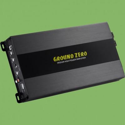 "GROUND ZERO IRIDIUM ""GZIA 1.1500D"" 1-Kanal High-Quality Class D Verstärker 1300W @ 1Ohm"