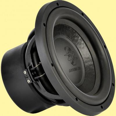 """GROUND ZERO URANIUM """"GZUW 10SQX"""" 25 cm Sound-Quality Subwoofer 2 x 2 Ohm - 450W"""