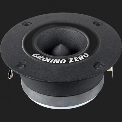 "GROUND ZERO COMPETITION ""GZCT 3500X-B"" 25 mm Kompressions-Hochtöner mit Aluminiumkalotte (1 Stück)"