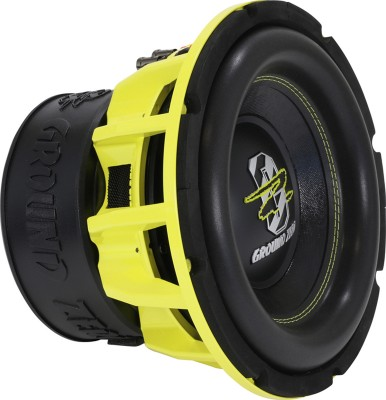 "GROUND ZERO ""GZHW 25SPL"" 25 cm Subwoofer - 2 x 1 Ohm - 2500 W SPL Power"