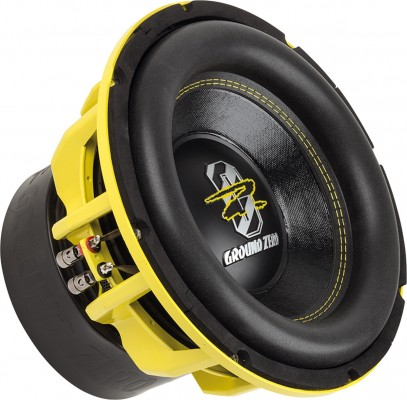 "GROUND ZERO ""GZHW 30SPL"" 30 cm Subwoofer - 2 x 1 Ohm - 3000 W SPL Power"