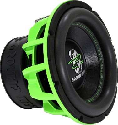 "GROUND ZERO ""GZHW 30SPL GREEN"" 30 cm Subwoofer - 2 x 1 Ohm - 3000 W SPL Power"
