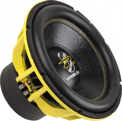 "GROUND ZERO ""GZHW 38SPL"" 38 cm Subwoofer - 2 x 1 Ohm - 3500 W SPL Power"