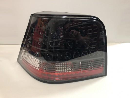 HD LED Designrückleuchten Set für VW Golf 4(97-03) KLARGLAS/SCHWARZ