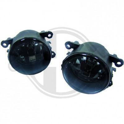 HD Nebelscheinwerfer Set Klarglas/Smoke Citroen, Dacia, Ford, Honda, Opel, Peugeot, Renault, Suzuki (Liste siehe Details)