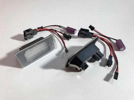 HD LED Kennzeichenleuchten für Audi A4(B8), A5(10-), Q5(10-), TT(09-)