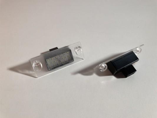 HD LED Kennzeichenleuchten für Audi A3(8L), A4(B5)