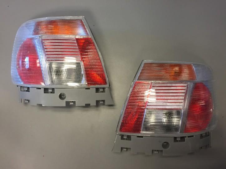 in.Pro Rückleuchten Audi A4 (B5) Limousine bis 2000 in silbergrau (Abverkauf)