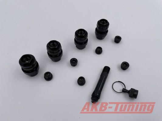 OptiVent das versteckte Sicherheits-Ventil (11,3mm) in schwarz