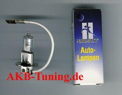 Normfest Halogen-Glühlampe H3 12V 55W 1Stück