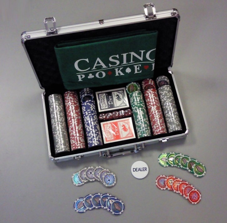 Profi Pokerset mit 300 Chips