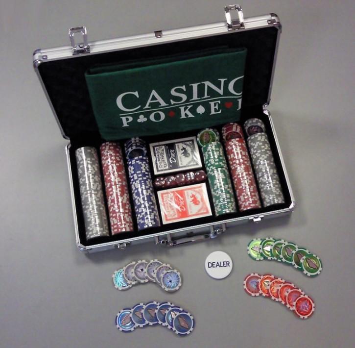 Profi Pokerset mit 300 Chips