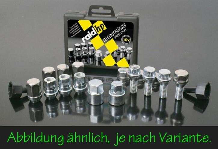 raid hp Felgenschloss M12 X 1.5 Kegel Schaftlänge 35mm SW17 (B16)