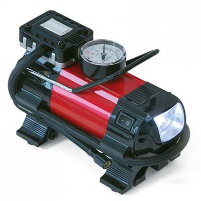 Dino 12 Volt Druckluft-Kompressor mit LED-Leuchte (140Watt, 6,9bar, 30Liter/Min.)