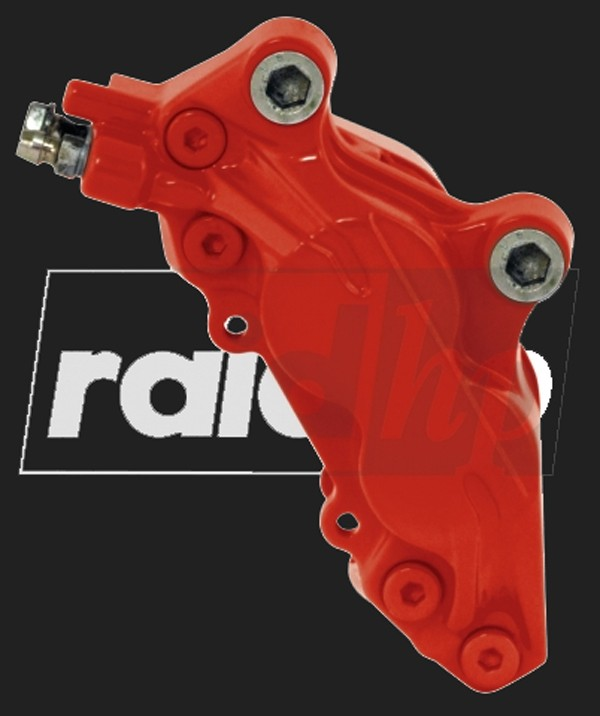 raid hp Bremssattel Lack (6-teilig) ROT glänzend