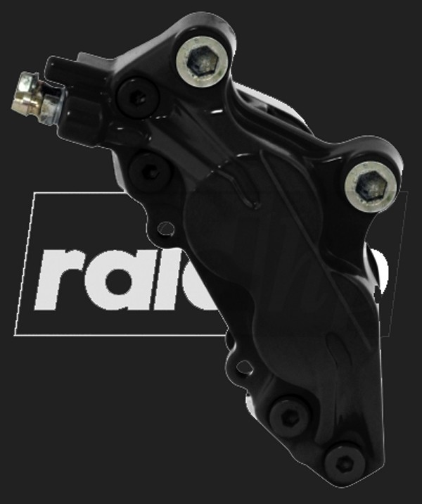 raid hp Bremssattel Lack (6-teilig) SCHWARZ glänzend
