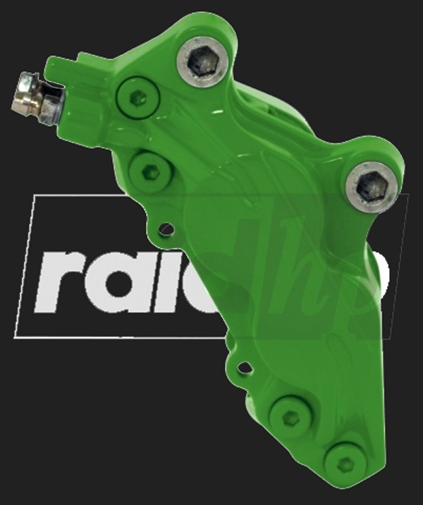 raid hp Bremssattel Lack (6-teilig) GRÜN glänzend