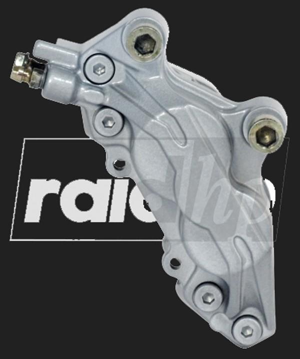 raid hp Bremssattel Lack (6-teilig) SILBER METALLIC glänzend