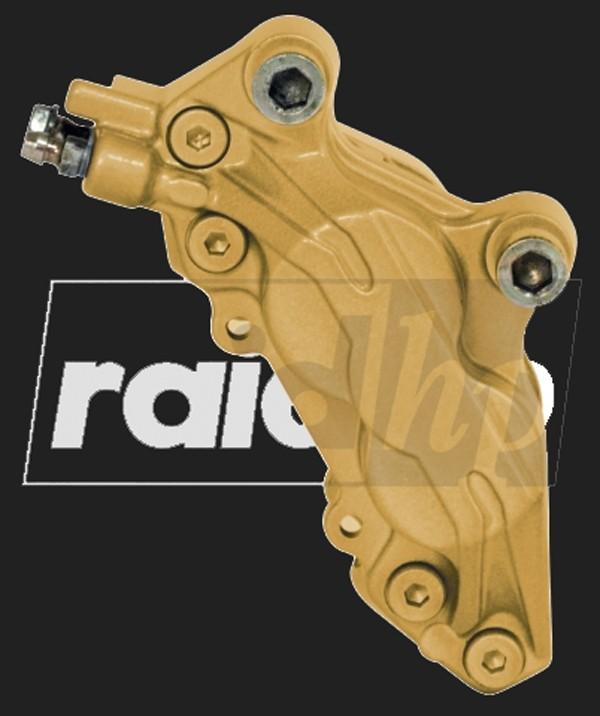 raid hp Bremssattel Lack (6-teilig) GOLD METALLIC glänzend