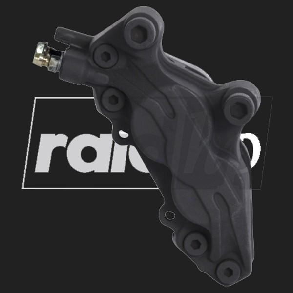 raid hp Bremssattel Lack (6-teilig) SCHWARZ-MATT