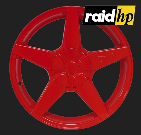 raid hp Automotive Sprühfolie Rot seidenglanz (1 x 500ml)