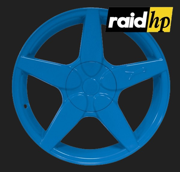 raid hp Automotive Sprühfolie Blau seidenglanz (1 x 500ml)