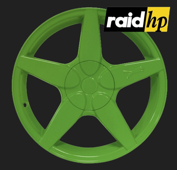 raid hp Automotive Sprühfolie Grün seidenglanz (1 x 500ml)