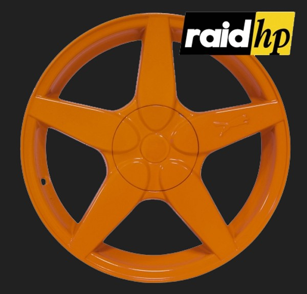 raid hp Automotive Sprühfolie Orange seidenglanz (1 x 500ml)
