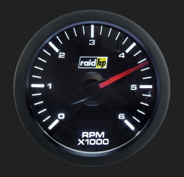 raid hp Zusatzinstrument 52mm Diesel Drehzahlmesser Serie Sport